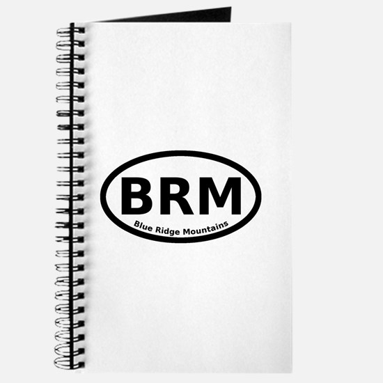 Blue Ridge Mountains Oval Journal