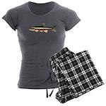Laurel Dace Women's Charcoal Pajamas