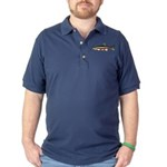 Laurel Dace Dark Polo Shirt