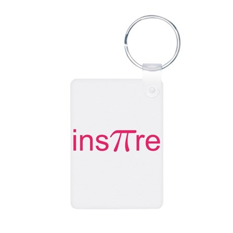 "Original Pink Ins""Pi""re Aluminum Photo Keychain"