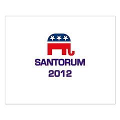 Santorum 2012 Posters