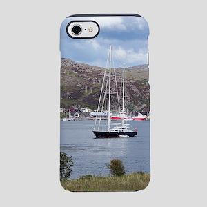Yacht, Kyle of Lochalsh, Scotl iPhone 7 Tough Case