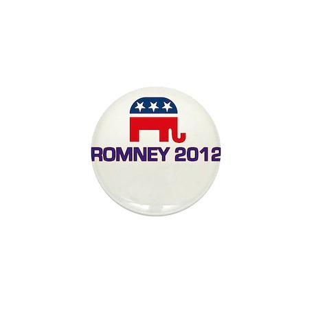 Romney 2012 Mini Button