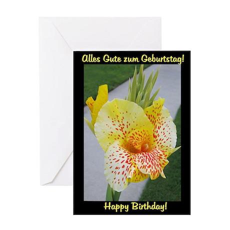 German Birthday Card Deutsch Geburtstagskarte By Capturedvision