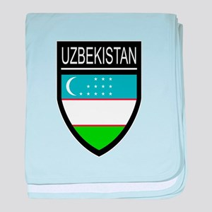 Uzbekistan Patch baby blanket