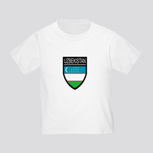 Uzbekistan Patch Toddler T-Shirt