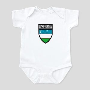 Uzbekistan Patch Infant Bodysuit