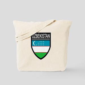 Uzbekistan Patch Tote Bag