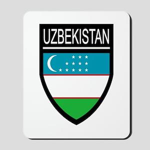 Uzbekistan Patch Mousepad