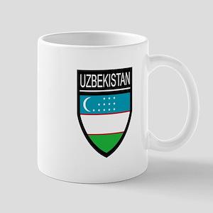Uzbekistan Patch Mug