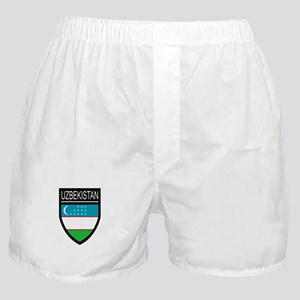 Uzbekistan Patch Boxer Shorts