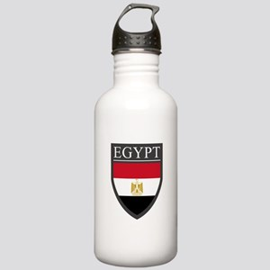 Egypt Flag Patch Stainless Water Bottle 1.0L