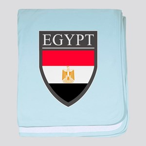 Egypt Flag Patch baby blanket