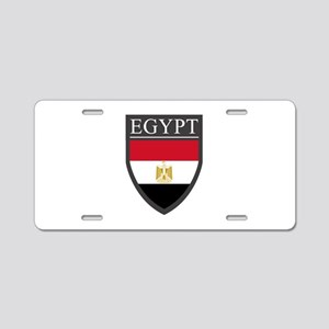 Egypt Flag Patch Aluminum License Plate