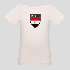 Egypt Flag Patch Organic Baby T-Shirt