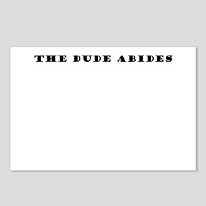Dude Abides Postcards (Package of 8)