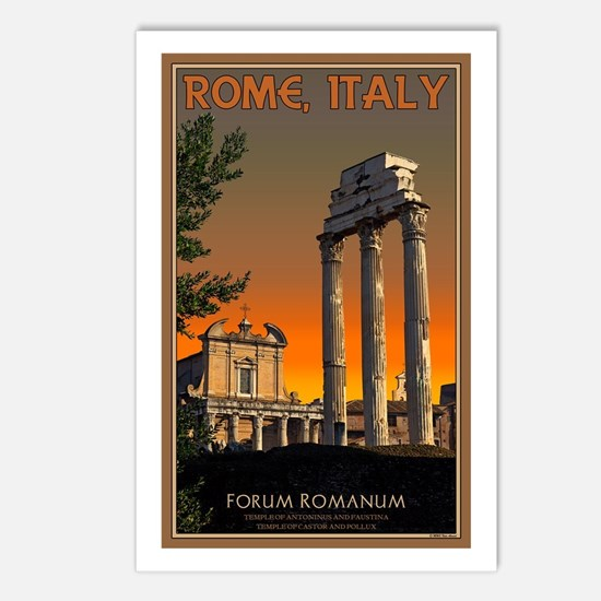 Forum Temples Postcards (Package of 8)