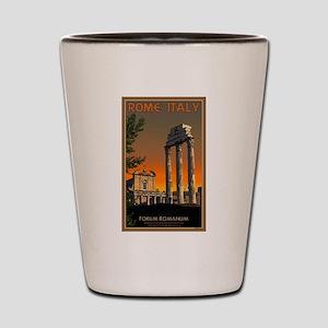 Forum Temples Shot Glass