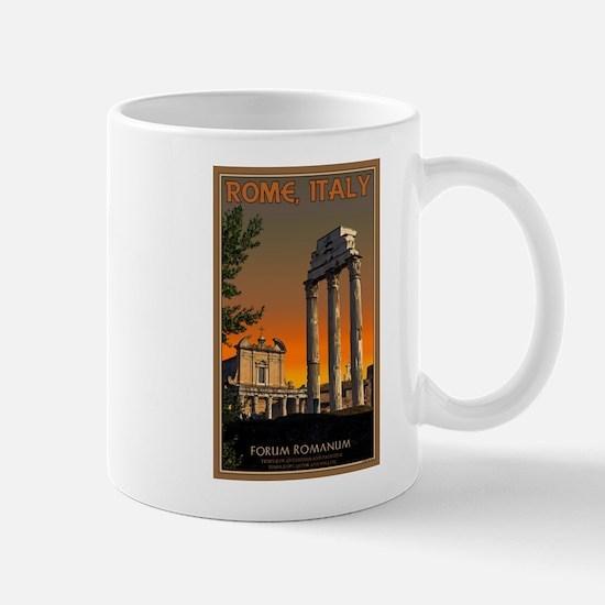 Forum Temples Mug