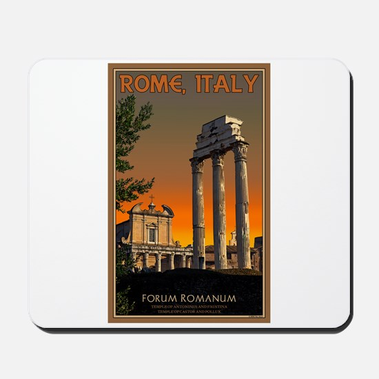 Forum Temples Mousepad