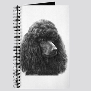 Black or Chocolate Poodle Journal