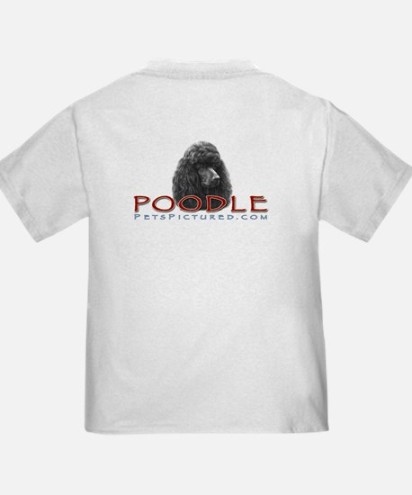 Black or Chocolate Poodle T