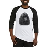 Black or Chocolate Poodle Baseball Jersey