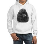 Black or Chocolate Poodle Hooded Sweatshirt
