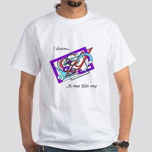 Cosmic Pinball White T-Shirt