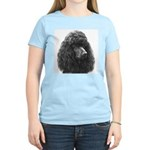 Black or Chocolate Poodle Women's Pink T-Shirt