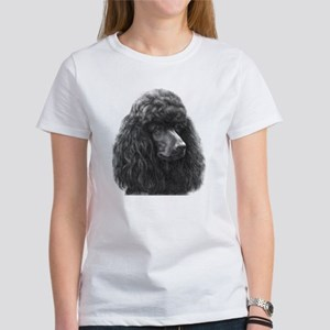 Black or Chocolate Poodle Women's T-Shirt