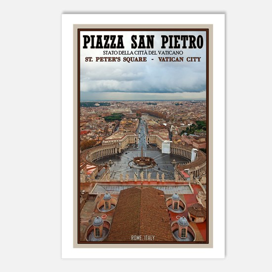 St. Peter's Square Postcards (Package of 8)