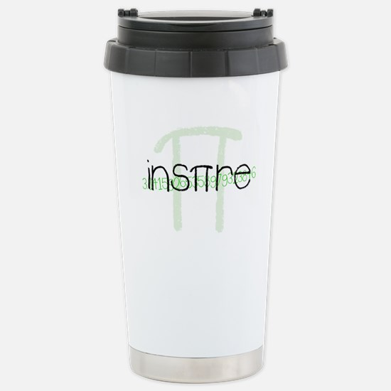 Inspire Green Stainless Steel Travel Mug