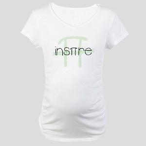 Inspire Green Maternity T-Shirt
