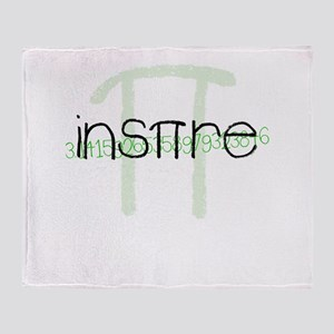 Inspire Green Throw Blanket