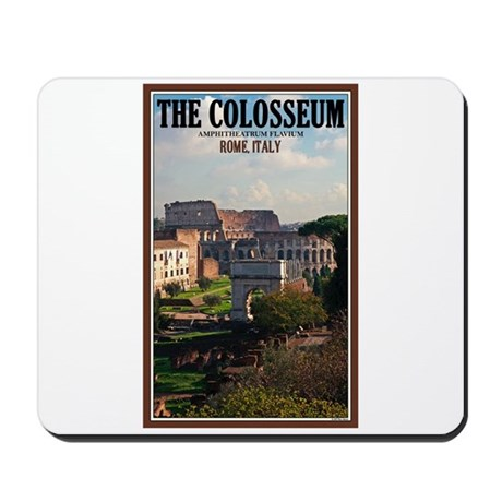 Forum View of Colosseum Mousepad
