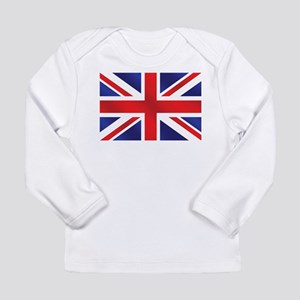 Union Jack UK Flag Long Sleeve Infant T-Shirt