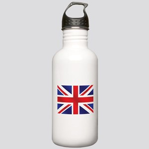Union Jack UK Flag Stainless Water Bottle 1.0L