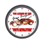 Gene Bergin 2x Pinto Wall Clock