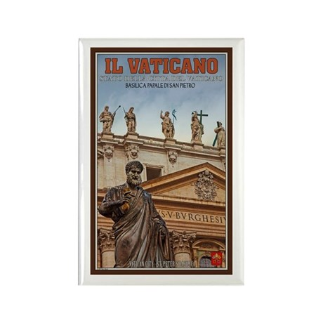 Vatican City Statues Rectangle Magnet (10 pack)