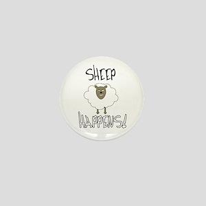 Sheep Happens Mini Button