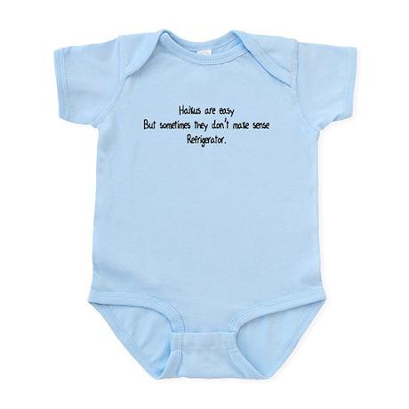 Haikus Are Easy Infant Bodysuit