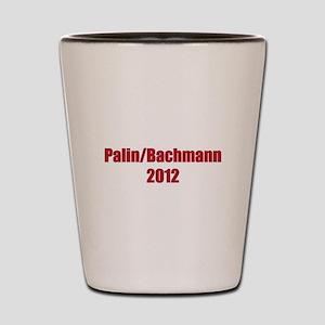 Palin / Bachmann 2012 Shot Glass