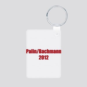 Palin / Bachmann 2012 Aluminum Photo Keychain