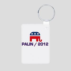 Palin 2012 Aluminum Photo Keychain