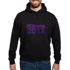 Nobama 2012 Hoodie (dark)