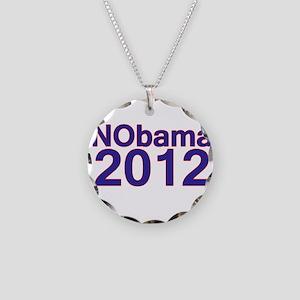 Nobama 2012 Necklace Circle Charm