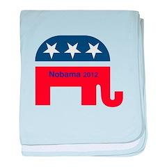 NObama 2012 baby blanket