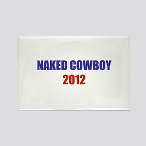 Naked Cowboy 2012 Rectangle Magnet