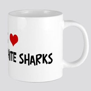 Great_White_Sharks 20 oz Ceramic Mega Mug